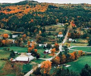 aerial photography, New Hampshire, and drone photography image