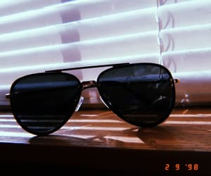 black, date, and sunglasses image