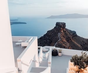 travel, Greece, and blue image