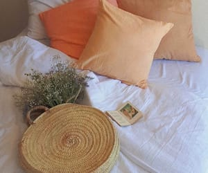 basket, bedding, and books image