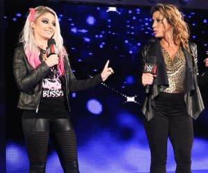 wwe, mickie james, and alexa bliss image