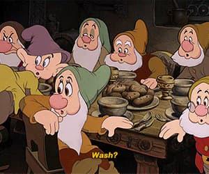 disney, gif, and snow white image