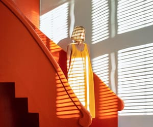 lines, orange, and photography image