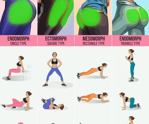 buttocks, fitness, and gym image