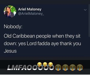 Caribbean, funny, and jokes image