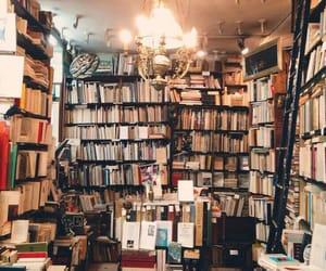 art, vintage, and books image