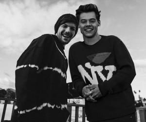HES, larry stylinson, and one direction image