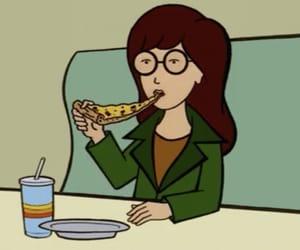 Daria, pizza, and gif image
