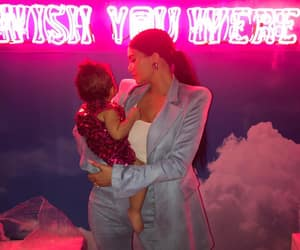 kylie jenner, stormi webster, and stormi image