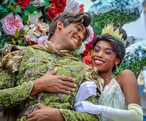 beautiful, flowers, and princess image