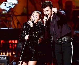 miley cyrus, shawn mendes, and music cares image