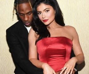 couple, Relationship, and kylie jenner image