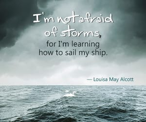 quotes, sea, and water image