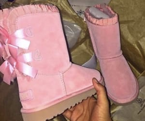 boots, now, and pink image
