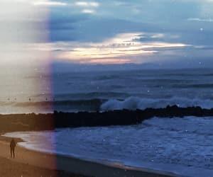 beach, february, and ocean image