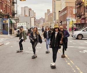 girl power, skater girls, and skater fashion image