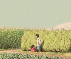 aesthetic, nature, and animation image