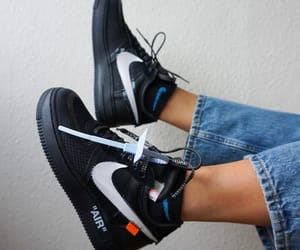 airforce, sneakers, and black image
