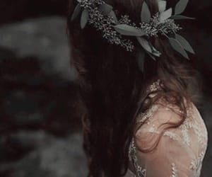 bride, persephone, and brunette image