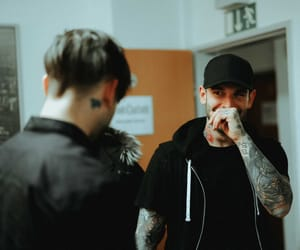 bands, good charlotte, and billy martin image
