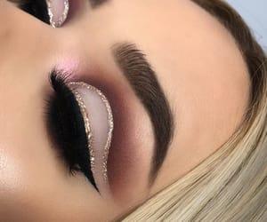 girl, beauty, and make up image