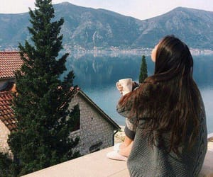 girl, nature, and free image