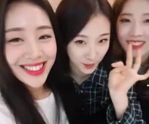yves, haseul, and kim lip image