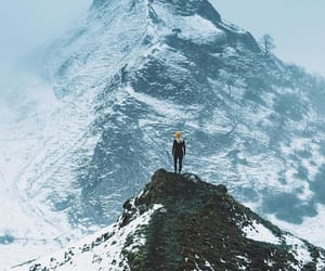 adventure, cold, and mountain image