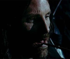 aragorn, handsome, and gif image
