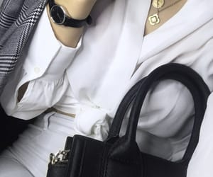 bag, collier, and fashion image