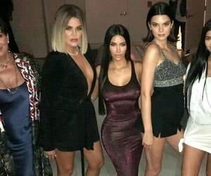 kim kardashian, kris jenner, and khloe kardashian image