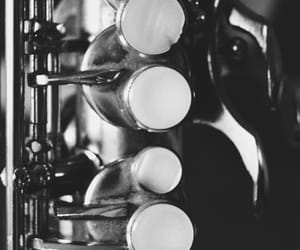 b&w, sax, and black and white image