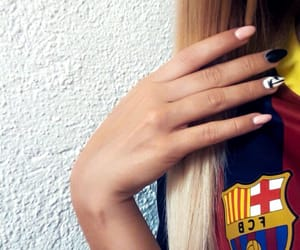 Barcelona, fcb, and blonde image