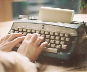 vintage, write, and indie image