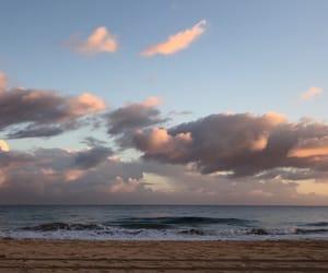 beach, hawaii, and kauai image