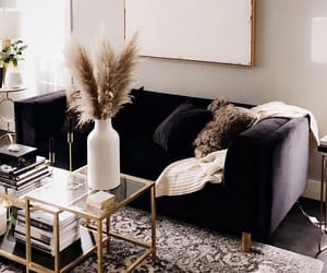 aesthetic, couch, and home image