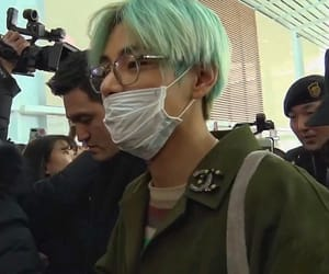 airport, jin, and kpop image