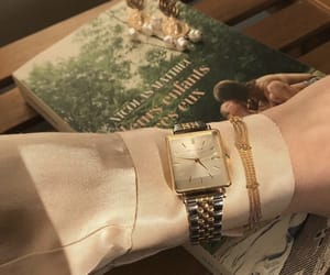 accessories, blouse, and book image