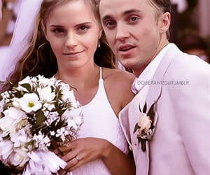 draco malfoy, dramione, and emma watson image