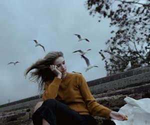 dark, food, and girl image
