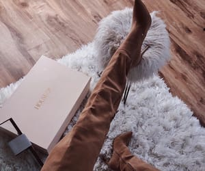 boots, outfit, and heels image