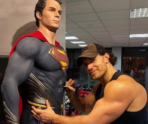 Henry Cavill, man of steel, and superman image