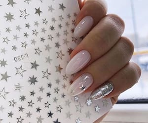 nails, girls, and stars image