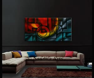 Abstract Painting, art, and cubism image