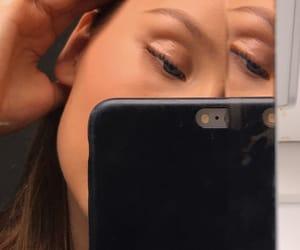 closeup, face, and girl image