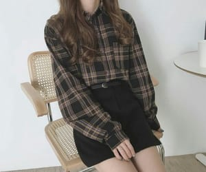 kfashion, korean fashion, and shirt image