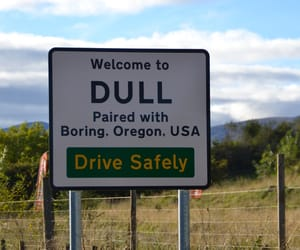 boring, drive, and road image