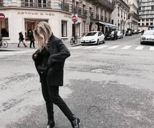 fashion, girl, and places image