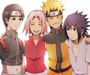anime, sakura, and naruto shippuden image