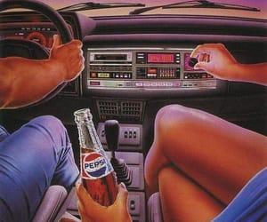 boy, car, and Pepsi image